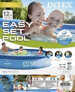 Brand New Intex 12' X 30 Easy Set Pool With Filter And Pump