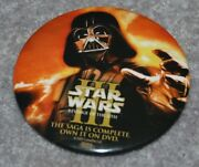 Star Wars Iii Revenge Of The Sith Metal Pinback Button