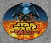 Star Wars 48 Hours Of The Force Metal Pinback Button