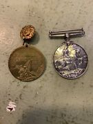 Ww1 Military Medals Pair- Reduced