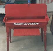 Hand Crafted Desk Made From A Vintage Radio Flyer Wagon