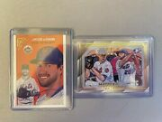 2020 Topps Gallery Heritage Jacob Degrom Master And Apprentice Pete Alonso
