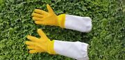5 Pair Lot Beekeeping Gloves Protective And Vented Gloves Bee Gloves Hive Gloves