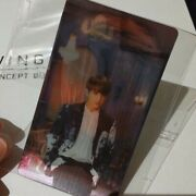 Bts Wings Concept Book K Pop Attached Post Card Korean Photo With Jungkook Photo