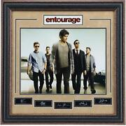 Entourage Series Poster Autographed By Staring Cast. Steiner Sports Certified