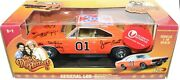 Johnny Lightning The Dukes Of Hazzard General Lee Dodge Signed By Cast Coa 1/18