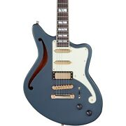 Dand039angelico Deluxe Series Bedford Sh Limited-edition Guitar Matte Charcoal