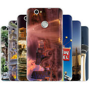 Dessana Las Vegas Tpu Silicone Protective Cover Phone Case Cover For Huawei