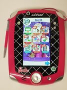 Leap Frog Leappad 2 Explorer Pink Barbie Edition Factory Reset/tested