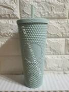 2021 Starbucks Thailand Mint Studded Cold Cup 24oz