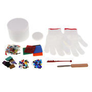 10x Large Stained Glass Fusing Supplies Professional Microwave Kiln Kit Tools