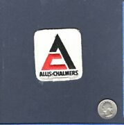 Allis Chalmers Farm Tractor Truck Automotive Collector Hat Jacket Patch