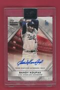 2020 Sandy Koufax Topps Industry Conference Auto 8/15