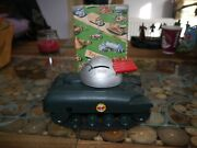 Tri-ang Minic Clockwork Sherman Tank With Key And Projectiles Working Boxed M116