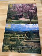 Lot Of 2 1000 Piece Guild Puzzle Natures Contrasts And Little Hope Wi, Sealed