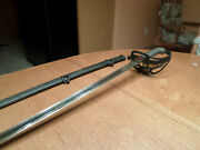 Authentic Civil War Union Officerandrsquos Sword Blade Forged By Solingen Of Germany