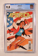 America 1 Marvel 2017 Cgc 9.8 150 Cliff Chiang Variant