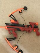 Nerf Red Big Bad Bow Variant, Used No Arrows, Still Working Not Broken.