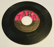 Rare 1958 The Moonlighters 45 - Rock A Bayou Baby Rockabilly Tara 102 Vg+