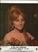 The Fearless Vampire Killers Original 1968 French Mgm Lobby Card Sharon Tate