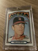 2021 Topps Heritage Nolan Ryan Real One Autograph Red Ink 58/72