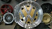 New 17 Inch 5x100 Deep Dish Rr Wheels For Vw Golf Caddy Jetta Lupo Jdm Style Old