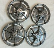 1963 Corvette Hubcap Wheel Cover Original Oem Full Set 4