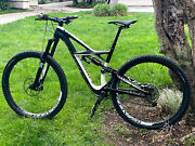2014 Specialized S-works Enduro 29 Carbon Fiber Mountain Bike Bicycle - Size M