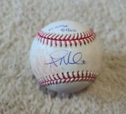 2020 Alec Mills Signed Game Used Pitched No Hitter Ball Chicago Cubs Mlb Holo
