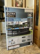 Intex 26333eh 20and039 X 48 Round Ultra Xtr Swimming Above Ground Pool