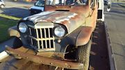 1957 Willys Wagon Wagon 1957 Willys Wagon Wagon Brown Rwd Manual Wagon