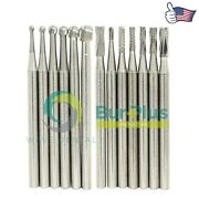 Wave Dental Oral Surgical Bur Tungsten Carbide Round Straight Taper Fissure Pear