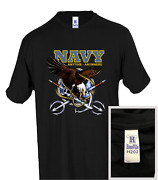 Military United States Navy Anytime Anywhere Eagle Honeville T-shirt Youth Adult