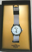 Timex Mickey Mouse 90th Anniversary Limited Menand039s Watch Silver Steamboat Willie
