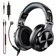Oneodio A71 Pc Headsets With Boom Mic - Office Over Ear Wired Headphones For