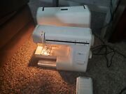 Janome New Home My Excel 23l Sewing Machine W/ Case, Foot Pedal