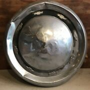 1955 55 1956 56 Chevy Chevrolet Hubcap Wheelcover Dogdish Poverty Hub Cap Oem