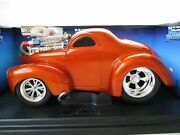 Muscle Machines And03941 Willys Too Cool Coupe 118 Scale Die Cast. 2001 New