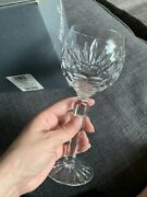 Waterford Crystal Ashling Wine Hock New In Box Qty 4