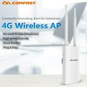 300mbps 2.4g Outdoor Ap W/antenna Wifi Range Extension Repeater For 4g Sim Card