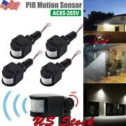 1-4x Outdoor Led Security Pir Infrared Motion Sensor Detector Switch Wall Light