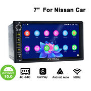 Android 10 Car Stereo 7 Inch Touchscreen Gps Built-in Dsp With Canbus For Nissan