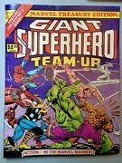 Marvel Super-hero Team-up 9 Treasury Edition 1976 Fn/vf, Could Use A Press