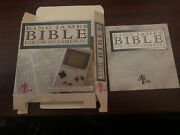 King James Bible Gameboy Box And Manual Only Rare