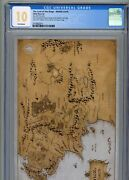 Cgc 10 First Release Lord Of The Rings Map Of Middle Earth 2021 35g Silver Foil