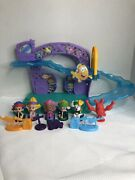 Fisher Price Bubble Guppies Rock And Roll Stage Complete