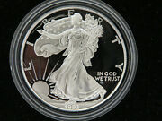 1993 P Proof Silver American Eagle With Box And Coa Z1000