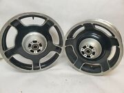 Oem Harley Davidson Touring Models 09-13 Wheels Rims Used Front And Rear.