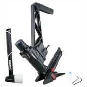 Pneumatic 3-in-1 15.5-gauge And 16-gauge 2 In. Flooring Nailer And Stapler With