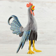 Rooster Alebrije Oaxacan Wood Carving A2381   Magia Mexica